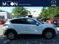 2014 Crystal White Pearl Mica Mazda CX-5 Touring AWD #114616833