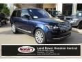 Loire Blue Metallic 2016 Land Rover Range Rover Supercharged