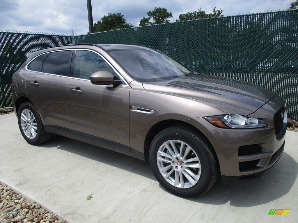 2017 Jaguar F Pace Prestige >> 2017 Quartzite Jaguar F-PACE 35t AWD Prestige #114646368 | GTCarLot.com - Car Color Galleries