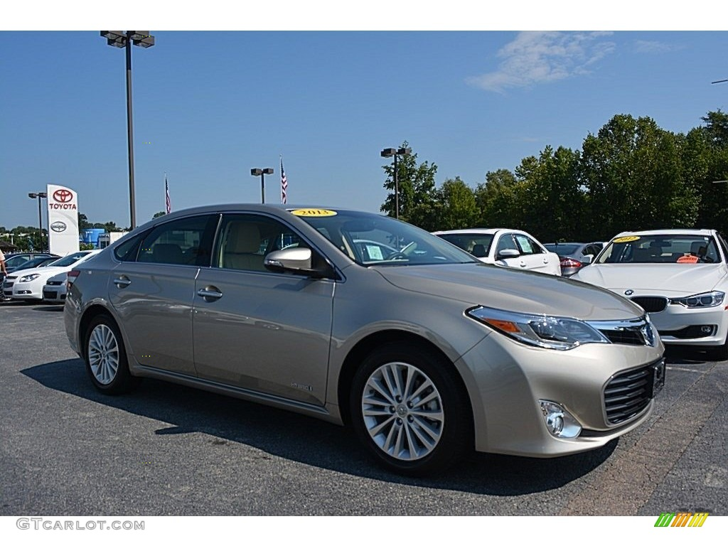 2013 champagne mica toyota avalon hybrid limited 114672151 car color galleries. Black Bedroom Furniture Sets. Home Design Ideas