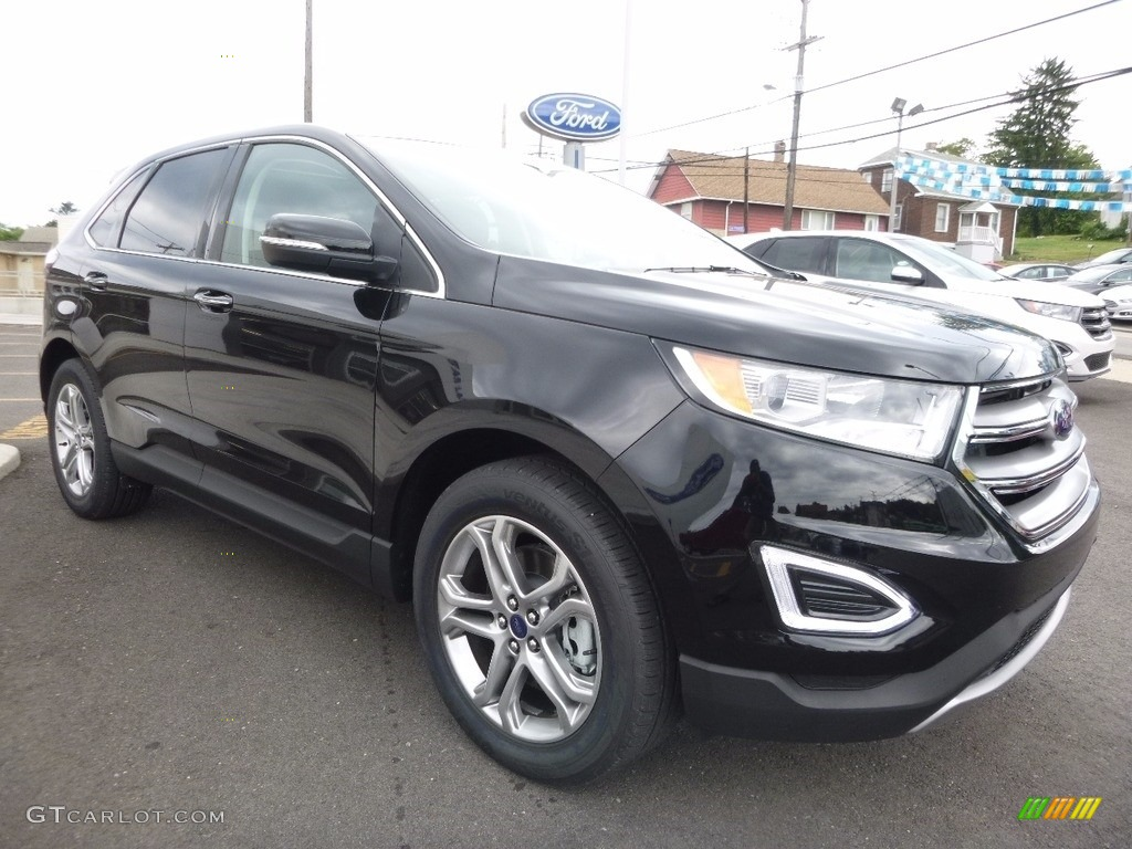 2016 shadow black ford edge titanium awd 114672277 photo 3 car color galleries. Black Bedroom Furniture Sets. Home Design Ideas