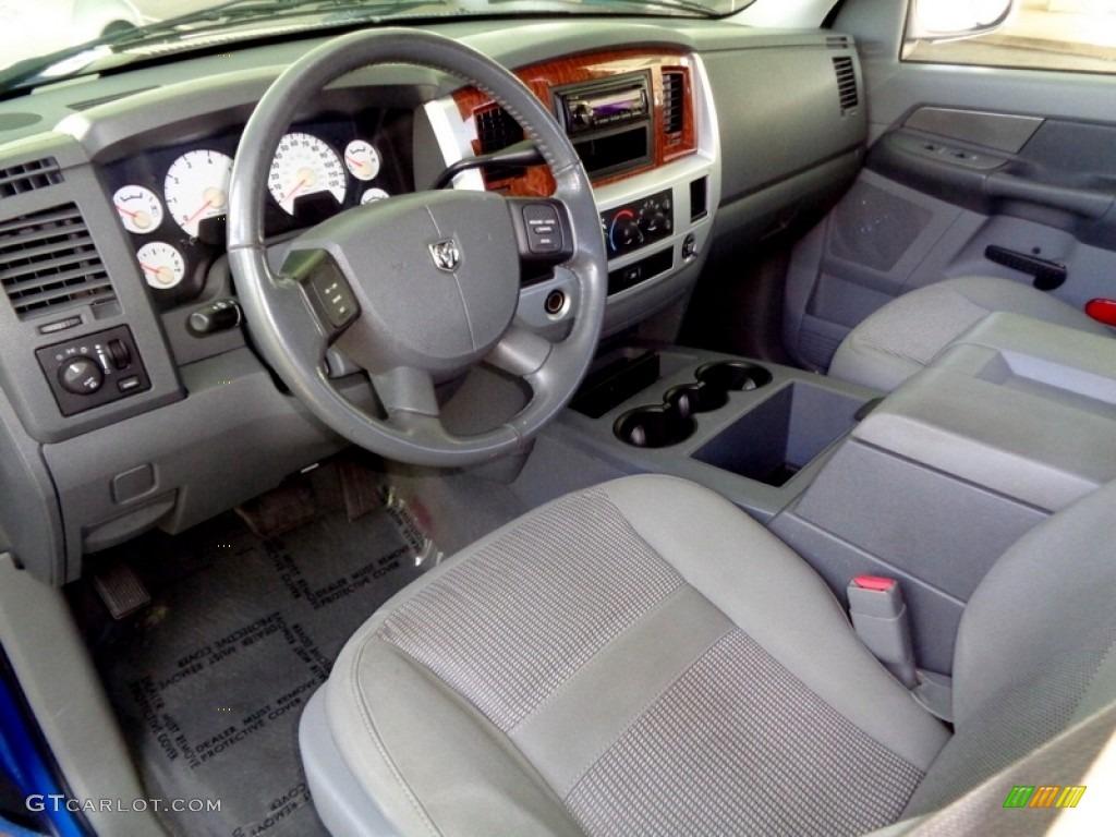 Medium Slate Gray Interior 2008 Dodge Ram 1500 Slt Quad Cab