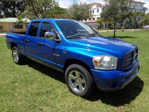 2008 Dodge Ram 1500 SLT Quad Cab Data, Info and Specs