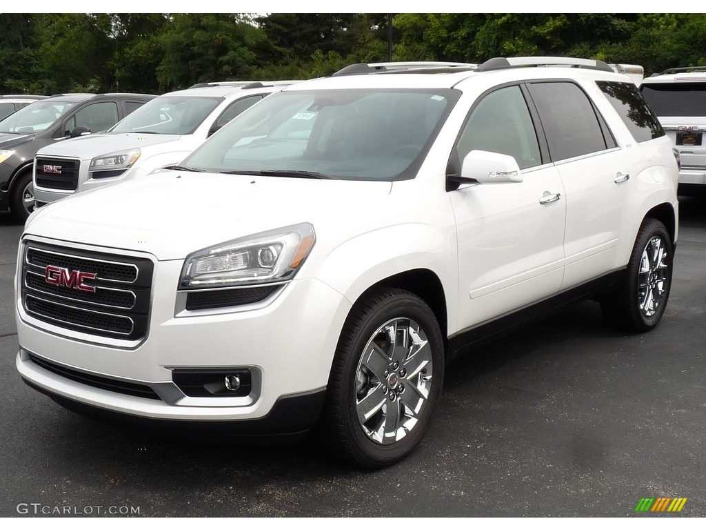 2017 white frost tricoat gmc acadia limited awd 114691814 car color galleries. Black Bedroom Furniture Sets. Home Design Ideas