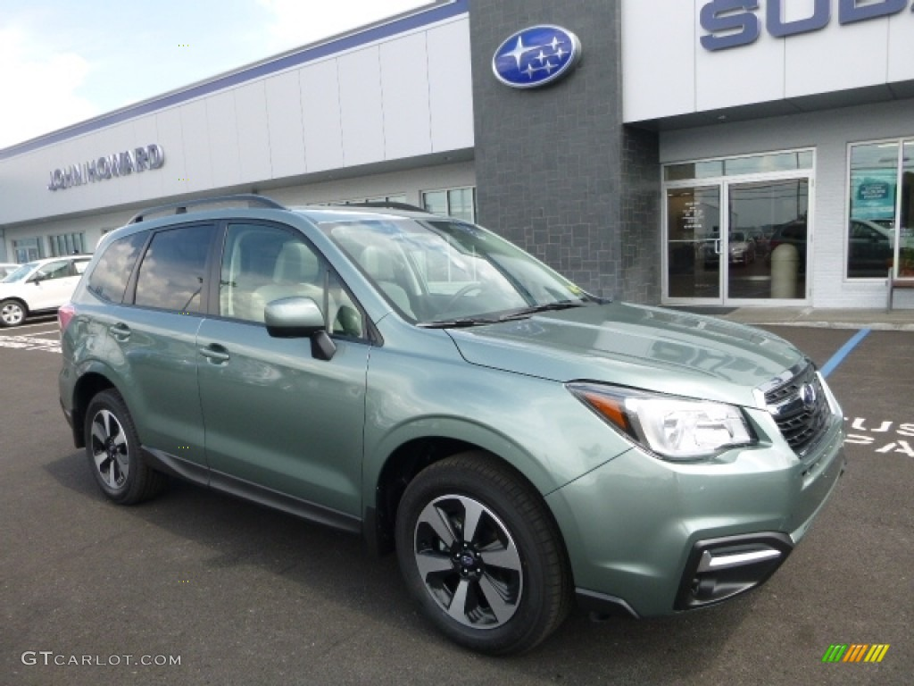 2017 jasmine green metallic subaru forester premium. Black Bedroom Furniture Sets. Home Design Ideas