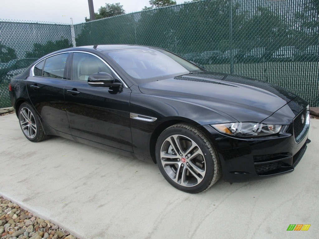2017 ebony black jaguar xe 35t premium awd 114716797