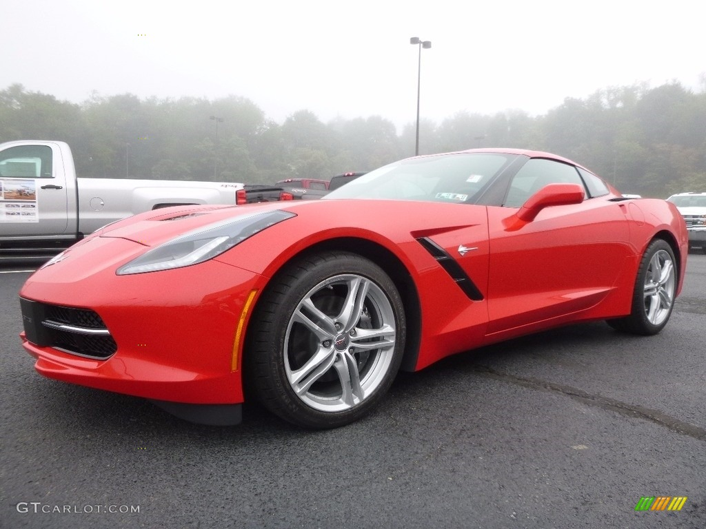 2017 torch red chevrolet corvette stingray coupe. Black Bedroom Furniture Sets. Home Design Ideas