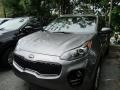 2017 Mineral Silver Kia Sportage LX AWD  photo #2