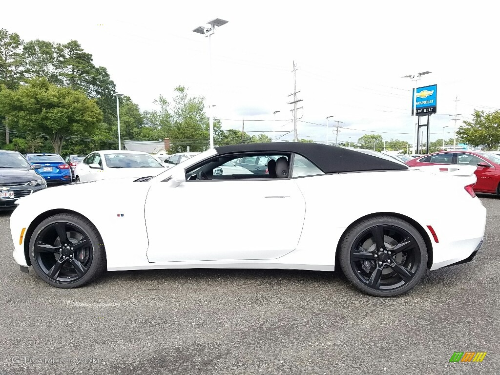 2017 Camaro Ss Convertible Summit White Adrenaline Red Photo 3