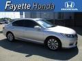 Alabaster Silver Metallic 2013 Honda Accord EX Sedan