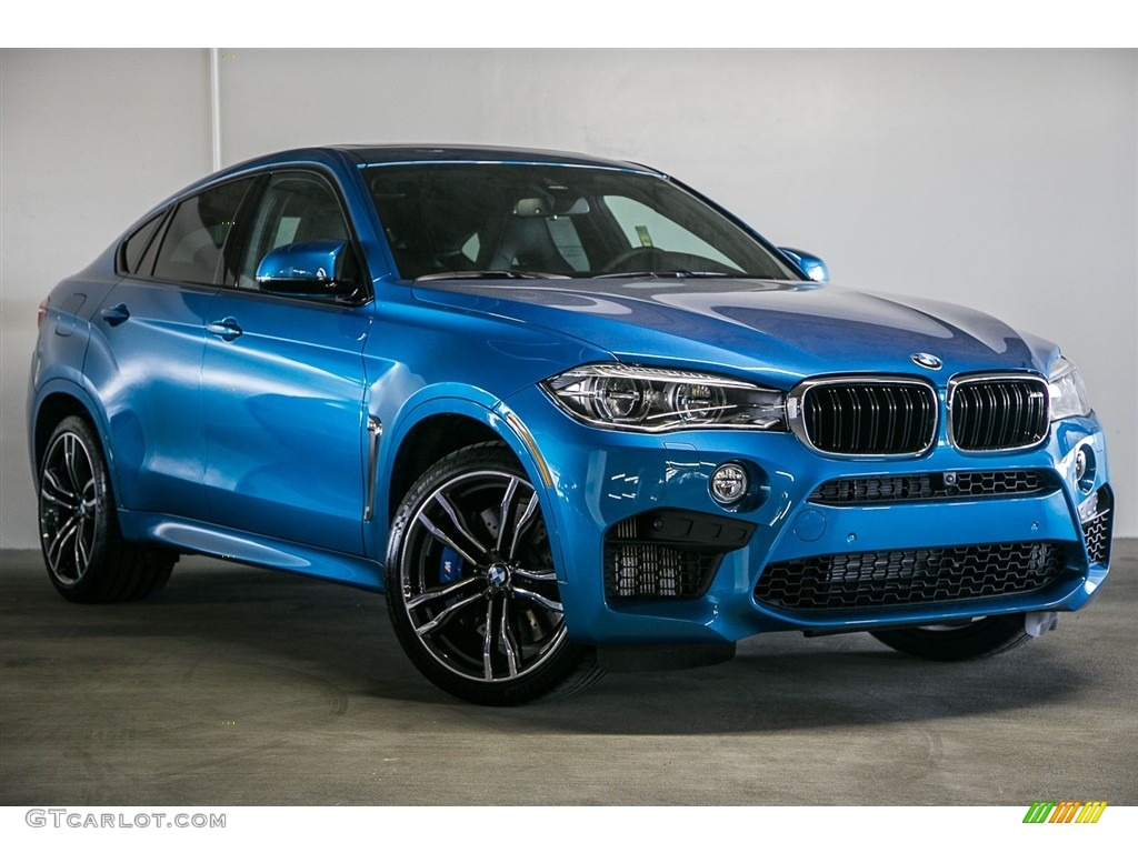 Long Beach Blue Metallic 2016 Bmw X6 M Standard X6 M Model