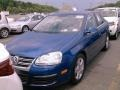 Laser Blue Metallic 2008 Volkswagen Jetta SE Sedan