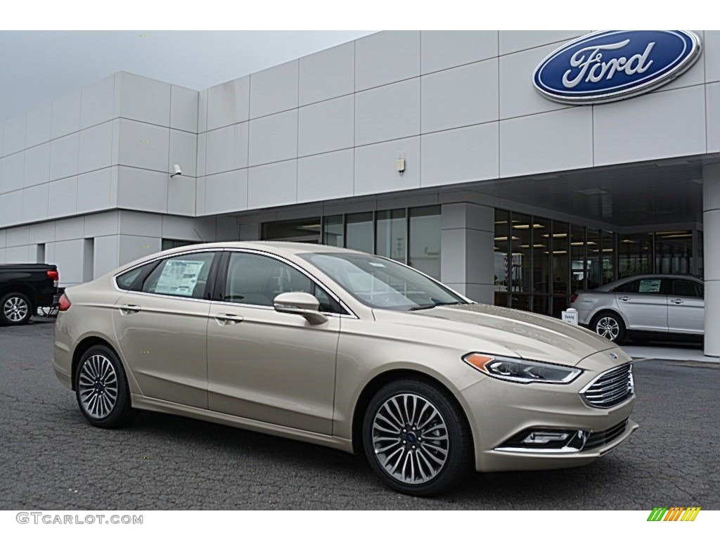 White Gold Fusion Ford