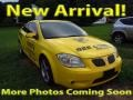 Competition Yellow 2008 Pontiac G5 GT
