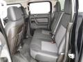 Ebony/Pewter Rear Seat Photo for 2009 Hummer H3 #114875780