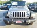 2016 Billet Silver Metallic Jeep Wrangler Unlimited Willys Wheeler 4x4  photo #2