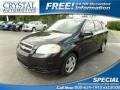 Black Granite Metallic 2009 Chevrolet Aveo LT Sedan