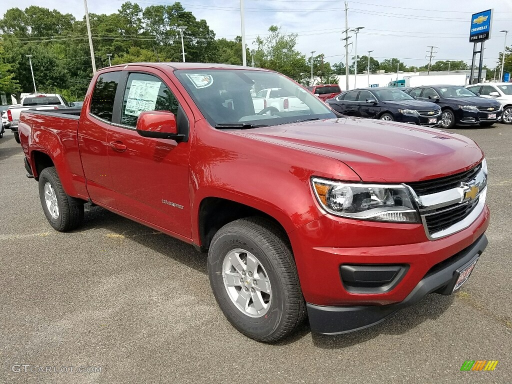 2016 red rock metallic chevrolet colorado wt extended cab. Black Bedroom Furniture Sets. Home Design Ideas