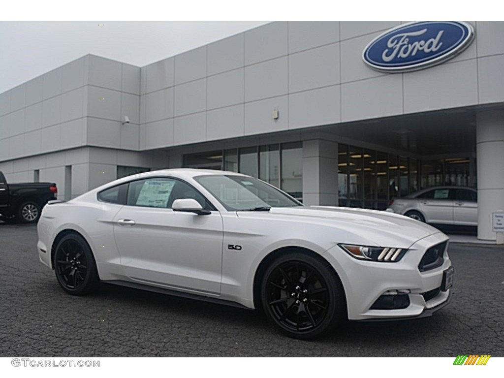 2017 white platinum ford mustang gt coupe 114901479 car color galleries. Black Bedroom Furniture Sets. Home Design Ideas