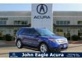 Deep Impact Blue 2014 Ford Explorer XLT