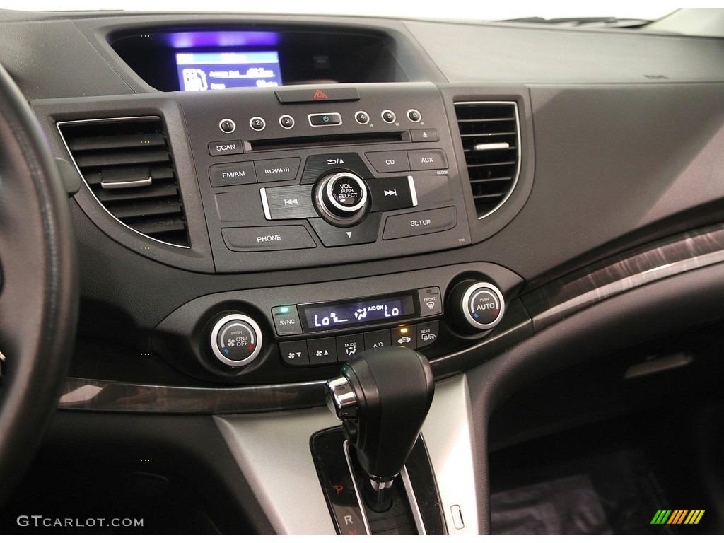2013 CR-V EX-L AWD - Kona Coffee Metallic / Black photo #9