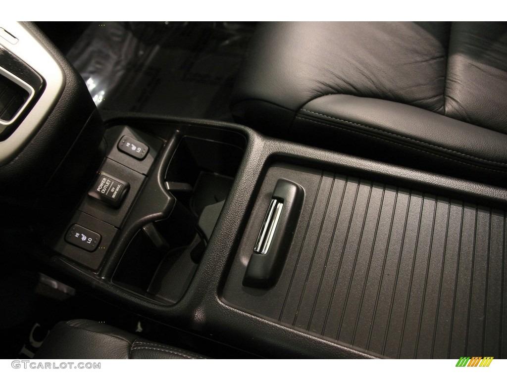 2013 CR-V EX-L AWD - Kona Coffee Metallic / Black photo #11