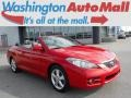 Super Red 5 2008 Toyota Solara SLE V6 Convertible