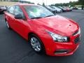 Red Hot 2016 Chevrolet Cruze Limited LS Exterior