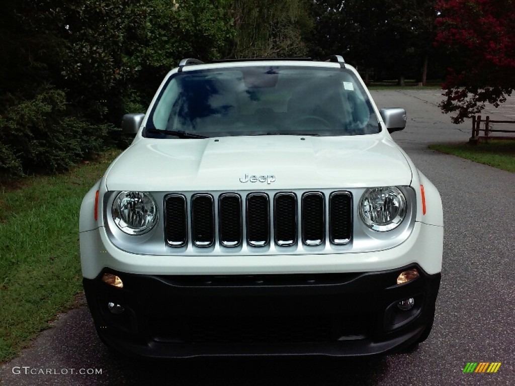 2016 Renegade Limited 4x4 - Alpine White / Black photo #11
