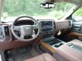 Front Seat of 2017 Silverado 1500 High Country Crew Cab 4x4