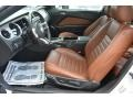 2013 Ford Mustang Saddle Interior Front Seat Photo