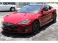 Red Multi-Coat - Model S P85D Performance Photo No. 2
