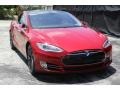 Red Multi-Coat - Model S P85D Performance Photo No. 9