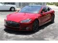 Red Multi-Coat - Model S P85D Performance Photo No. 31