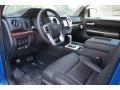 2016 Blazing Blue Pearl Toyota Tundra Limited Double Cab 4x4  photo #5