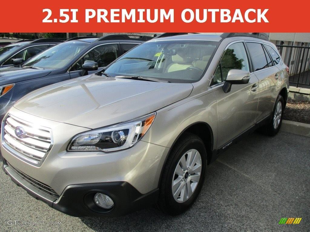 2017 Tungsten Metallic Subaru Outback 2.5i Premium
