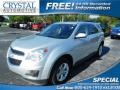 Silver Ice Metallic 2011 Chevrolet Equinox LT