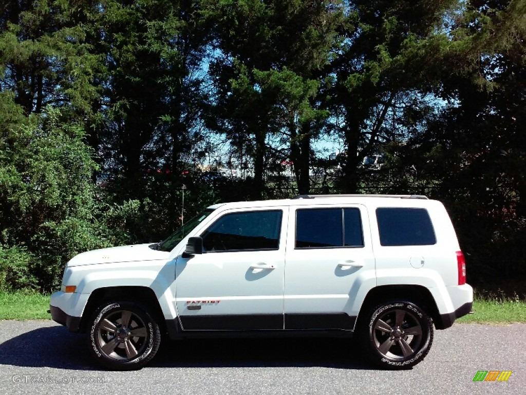 Bright White Jeep Patriot