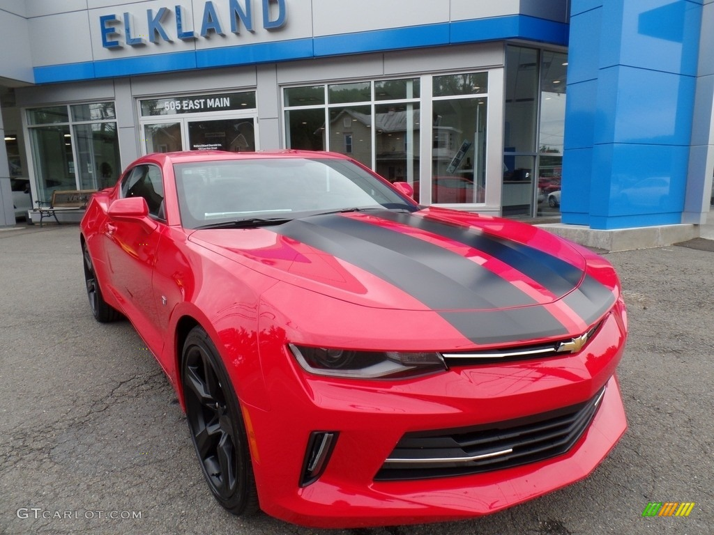Red Hot Chevrolet Camaro
