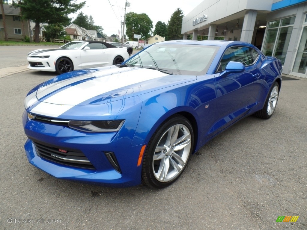 2017 Hyper Blue Metallic Chevrolet Camaro LT Coupe ...