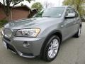 Space Gray Metallic 2013 BMW X3 xDrive 28i
