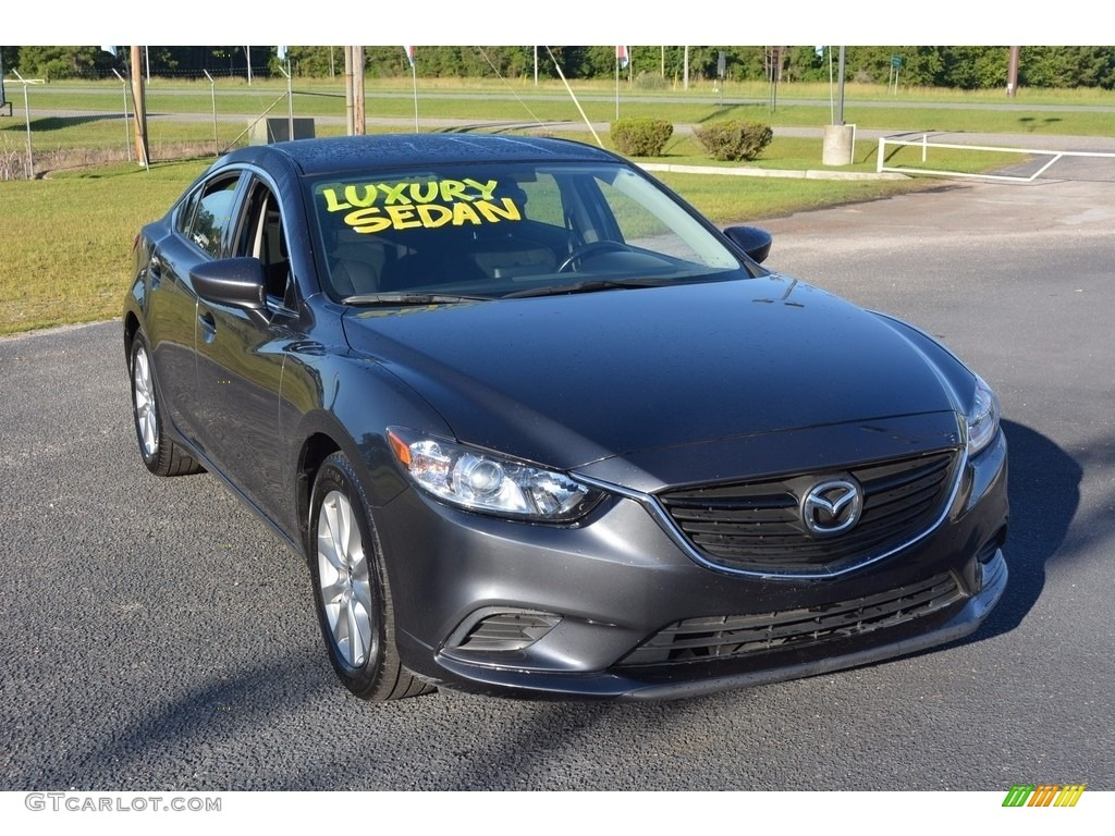 2016 meteor gray mica mazda mazda6 sport 115067856 car color galleries. Black Bedroom Furniture Sets. Home Design Ideas