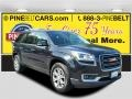 Carbon Black Metallic 2013 GMC Acadia SLT