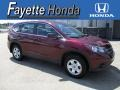 2013 Basque Red Pearl II Honda CR-V LX AWD  photo #1