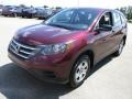 2013 Basque Red Pearl II Honda CR-V LX AWD  photo #5