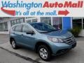 2014 Mountain Air Metallic Honda CR-V LX AWD  photo #1