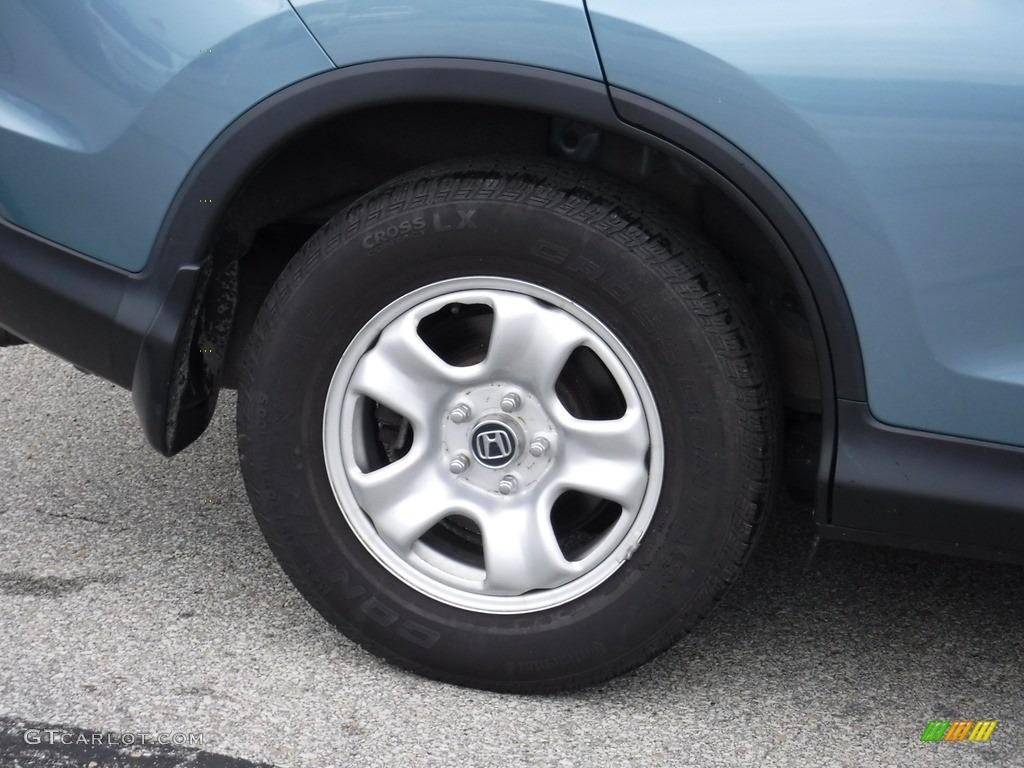 2014 CR-V LX AWD - Mountain Air Metallic / Black photo #3