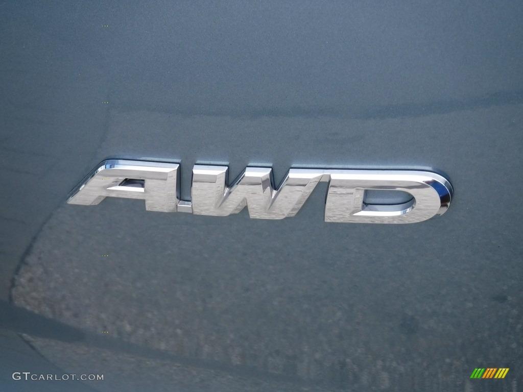 2014 CR-V LX AWD - Mountain Air Metallic / Black photo #10