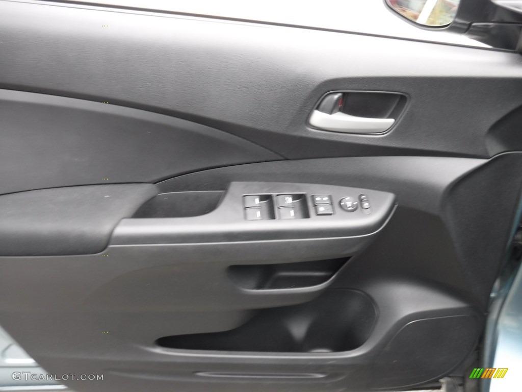 2014 CR-V LX AWD - Mountain Air Metallic / Black photo #12