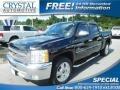2013 Black Chevrolet Silverado 1500 LT Crew Cab #115128488